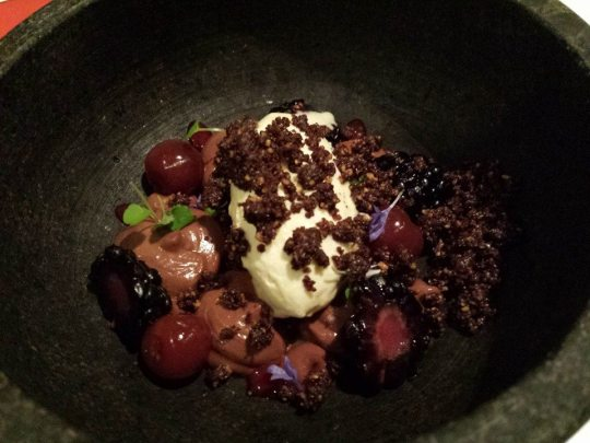 deconstructed black forest S$8 (part of S$35 3-course restaurant week menu)