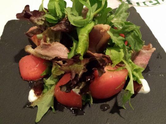 duck salad S$11