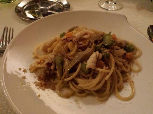 seafood pasta - ala carte