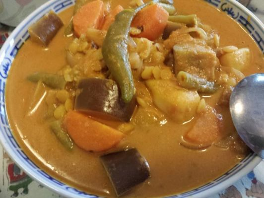dhal sayur curry
