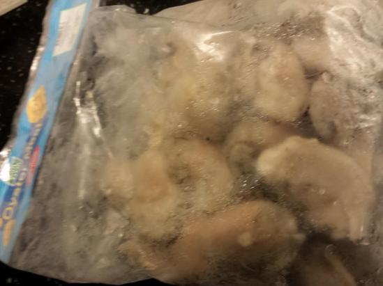 IQF (individual quick freeze) plump oysters from China