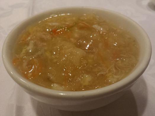crabmeat fishmaw soup