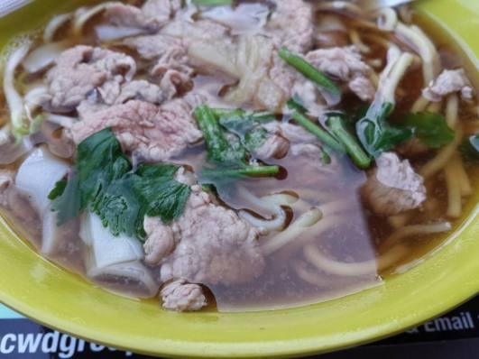 beef soup noodles