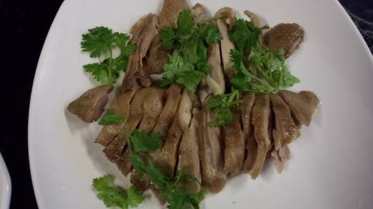 dry salt spice brined duck 盐水鸭