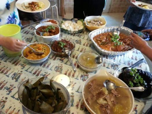 peranakan feast