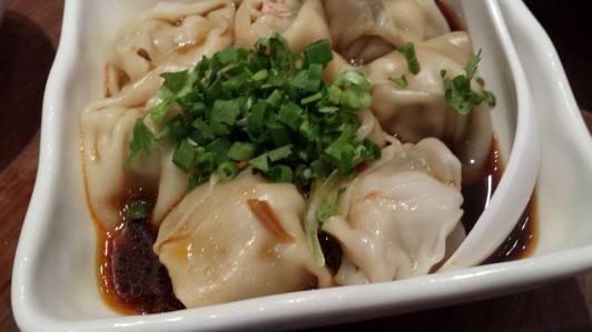 spicy dumplings 抄手