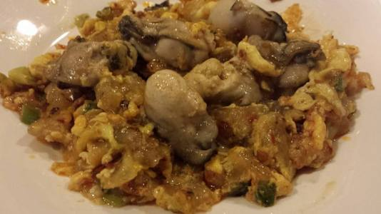 Oyster Omelette (蚝烙) Starchy OrhLuah