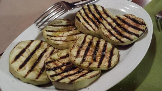 grilled zicchini