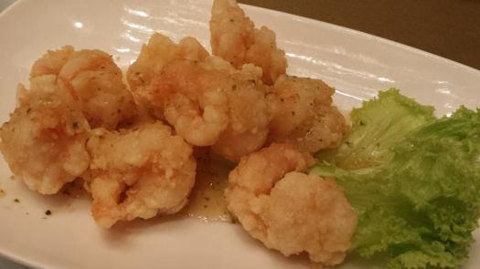 #5 yuzu prawns