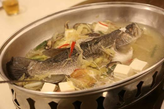 #3 steamed seabass