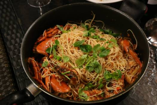 lobster angel hair pasta