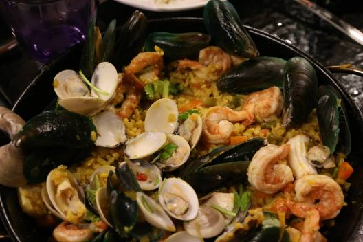 "Andy's ""Monterosso Miky"" seafood risotto"