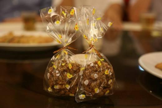 healthy fruits & nuts cookie baked by leak San