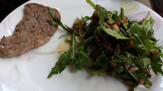 kagoshima wagyu & quinoa salad