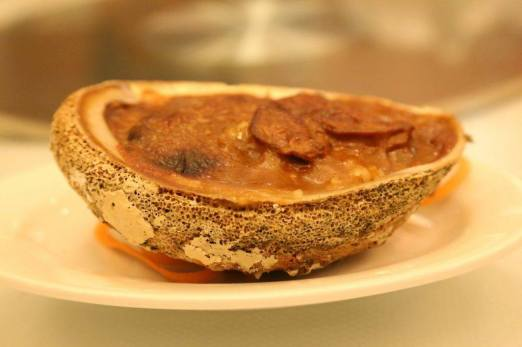 small abalones baked rice