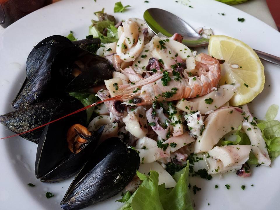 frutti di mare – seafood salad