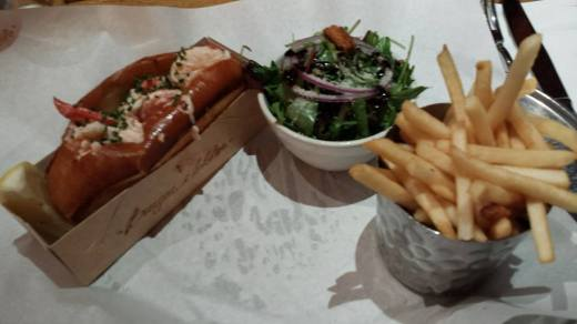 GBP20 lobster roll