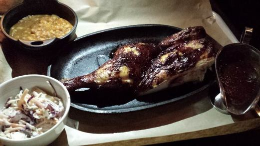 bbq 1/2 chicken