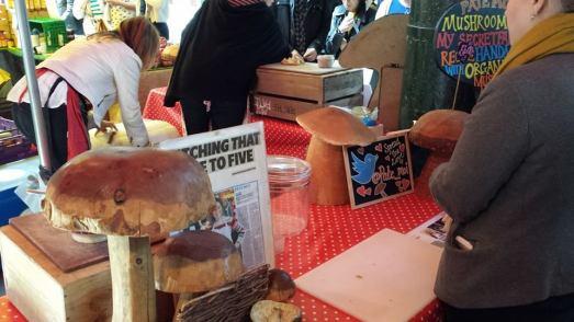 excellent mushroom pate=GBP4 tub