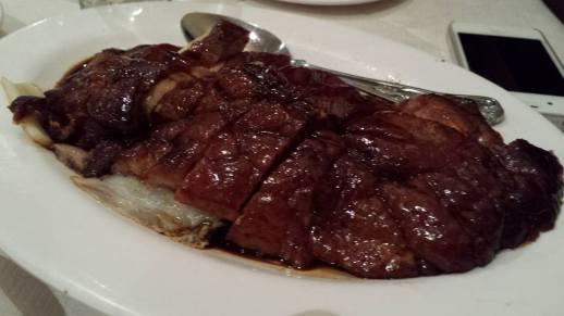 roast duck (烧鸭)