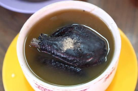 S$13 black chicken soup