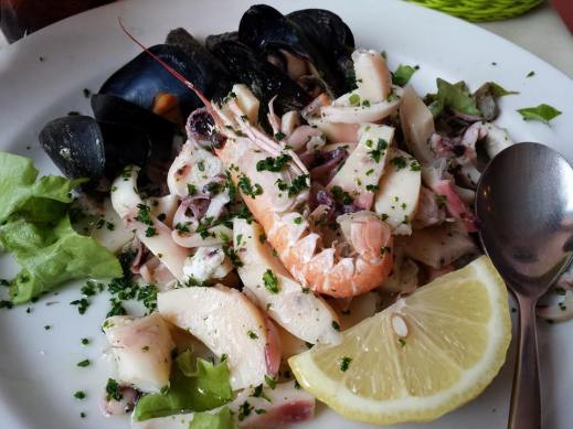frutti di mare - seafood salad