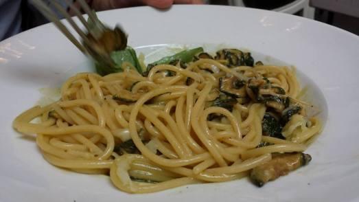 €12 spaghetti alla nerano (zucchini & parmesan)