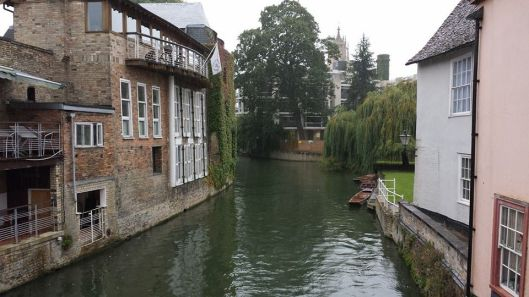 view from magdalene bridge