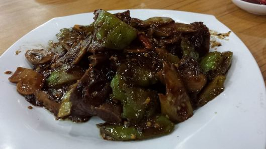 pork ribs with bitter gourd