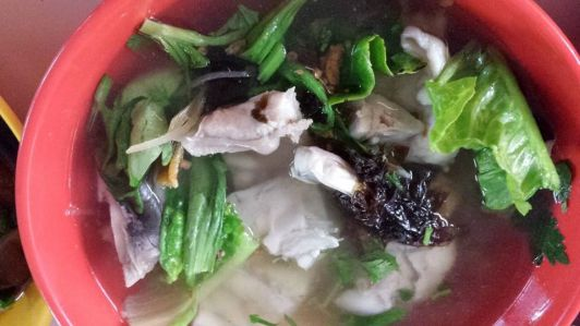 hoover fish porridge fish head soup