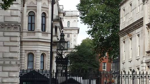 view of 10 downing street
