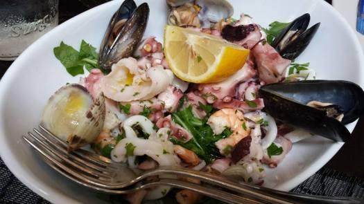 €14 frutti di mare seafood salad