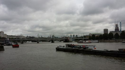 view from victoria embankment
