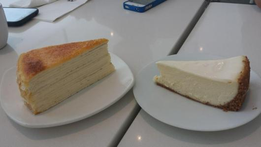 lady M's cheese cake
