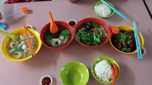 3pax dinner at whampoa market