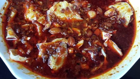 口水鸡 sichuan spicy poached chicken