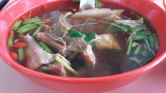 mutton rib soup