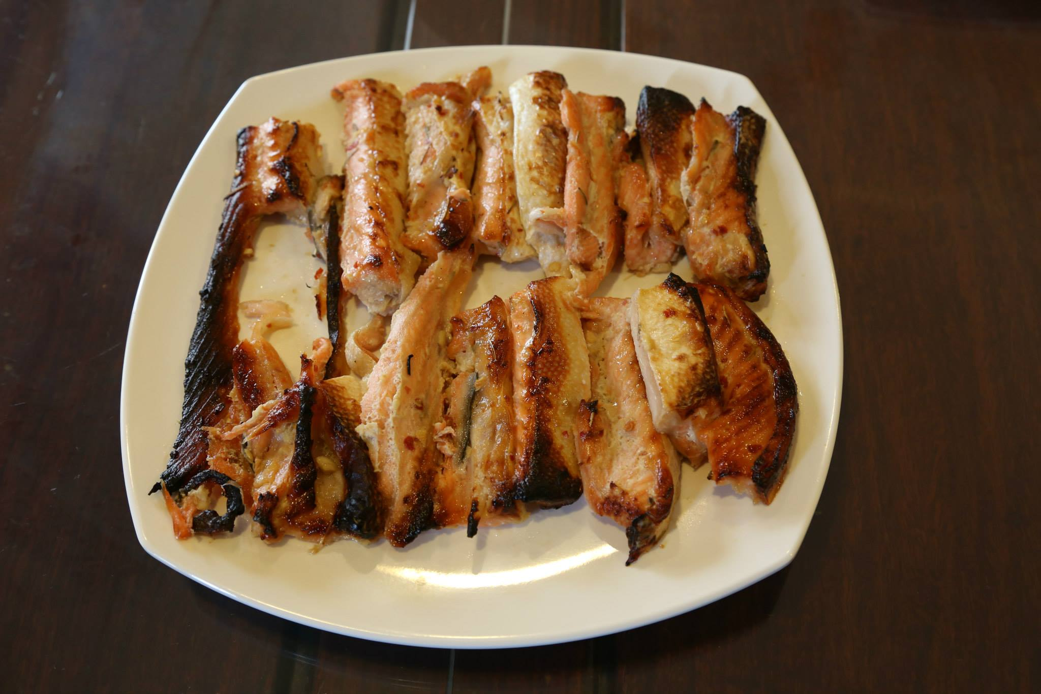 Recipe = Oven Grilled Miso Salmon Belly