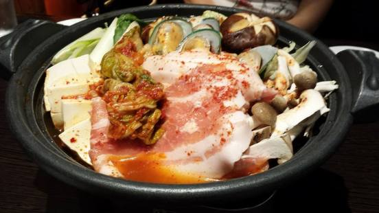 kurobuta kimchi nabe - groupon S$22.80nett