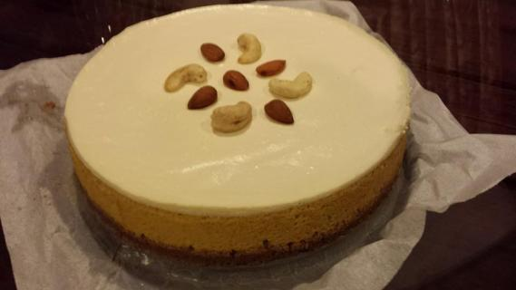 pumpkin cheese cake