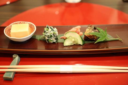 sakizuki - a selection of small appetizers