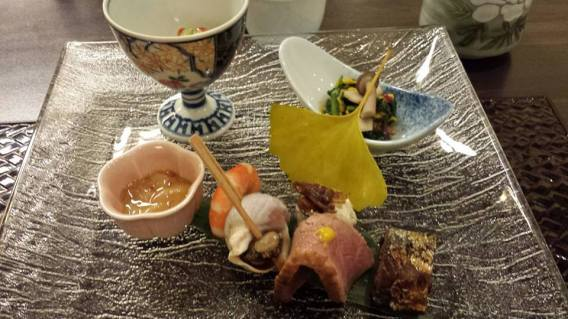 #1 sakizuki – a selection of small appetizers