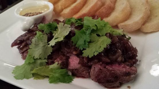 D-I-Y steak sandwich - S$22
