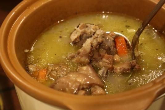 #7 peanut carrots pig trotter soup