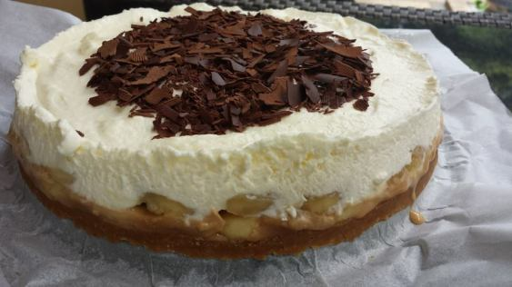 banoffee (banana toffee) pie