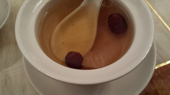 #6 doubled boiled pear & aloe vera with red dates
