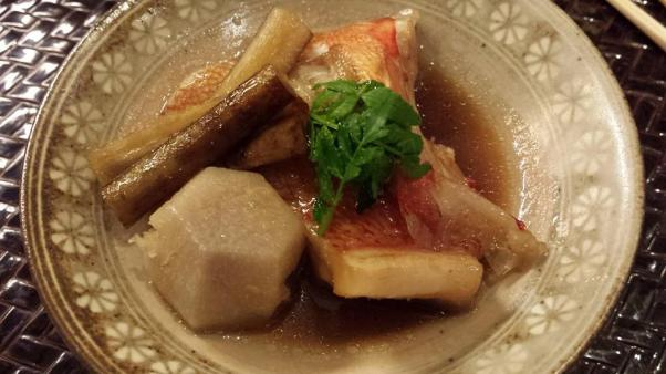 #6 braised kinki (expensive japanese fish)