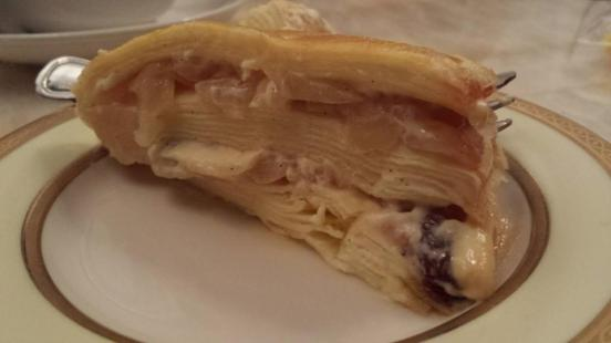 apple millecrepe from classic cakes