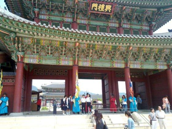 Gyeongbokgung Palace-景福宫兴礼门