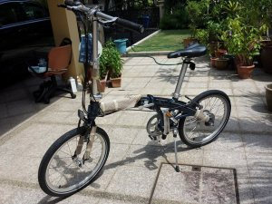 dahon mu n360 with cvt (continuous variable transmission) hub gear